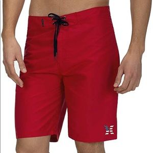 Hurley Americana Icon American Flag Board Short